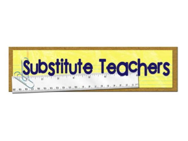 Substitute Teachers Banner Image
