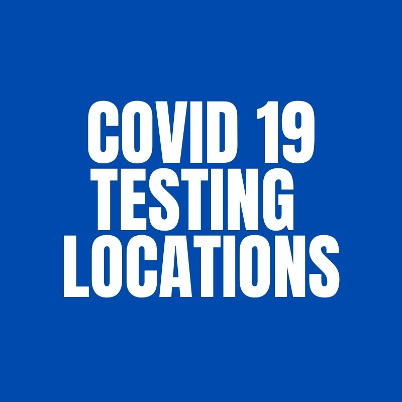Covid 19 Testing Sites - 50 Mile Radius of Boydton