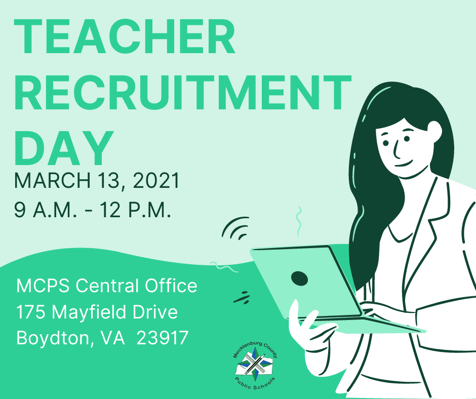 Teacher Recruitment Day – March 13, 2021